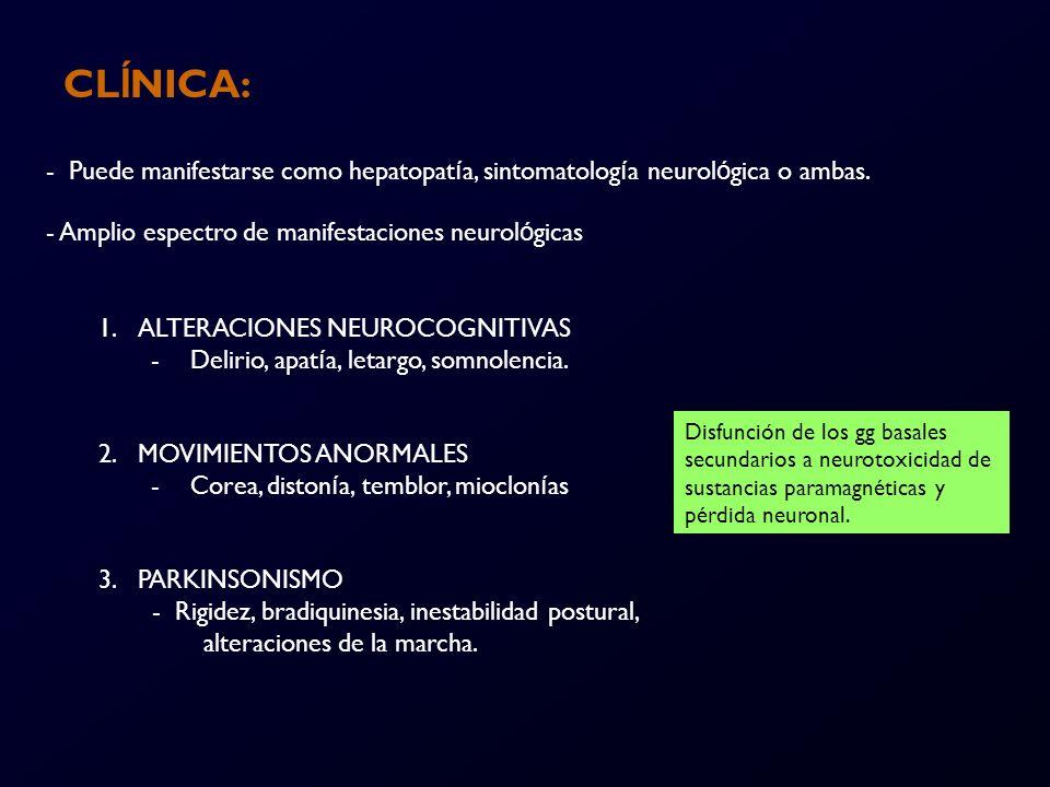 CLÍNICA: 4.SINDROME CEREBELOSO - Ataxia, disartria 5.