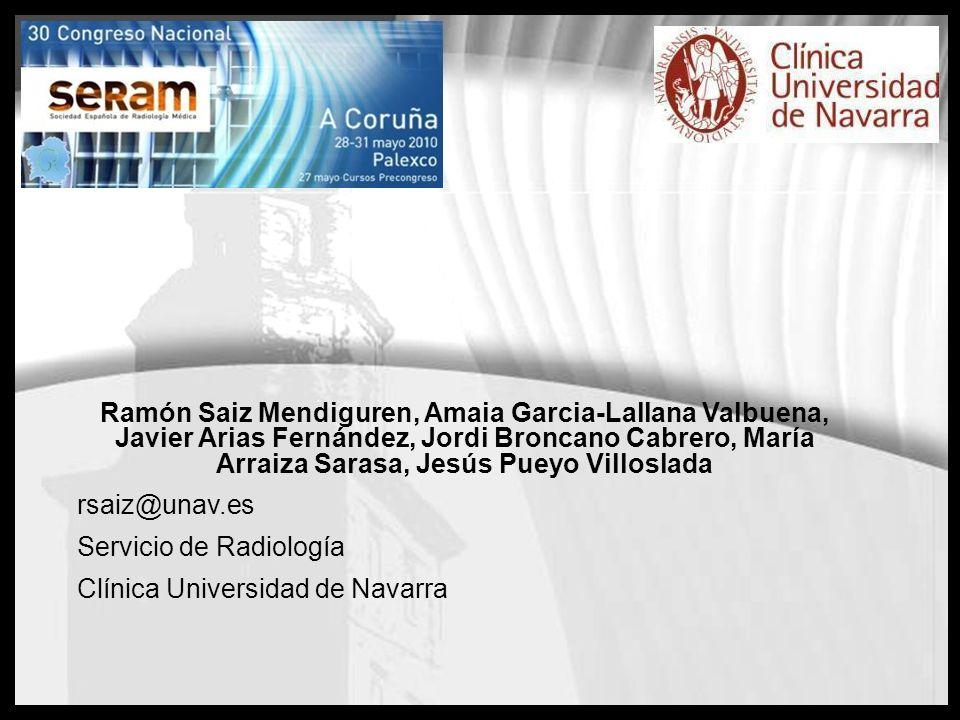 Ramón Saiz Mendiguren, Amaia Garcia-Lallana Valbuena, Javier Arias Fernández, Jordi Broncano Cabrero, María Arraiza Sarasa, Jesús Pueyo Villoslada rsa