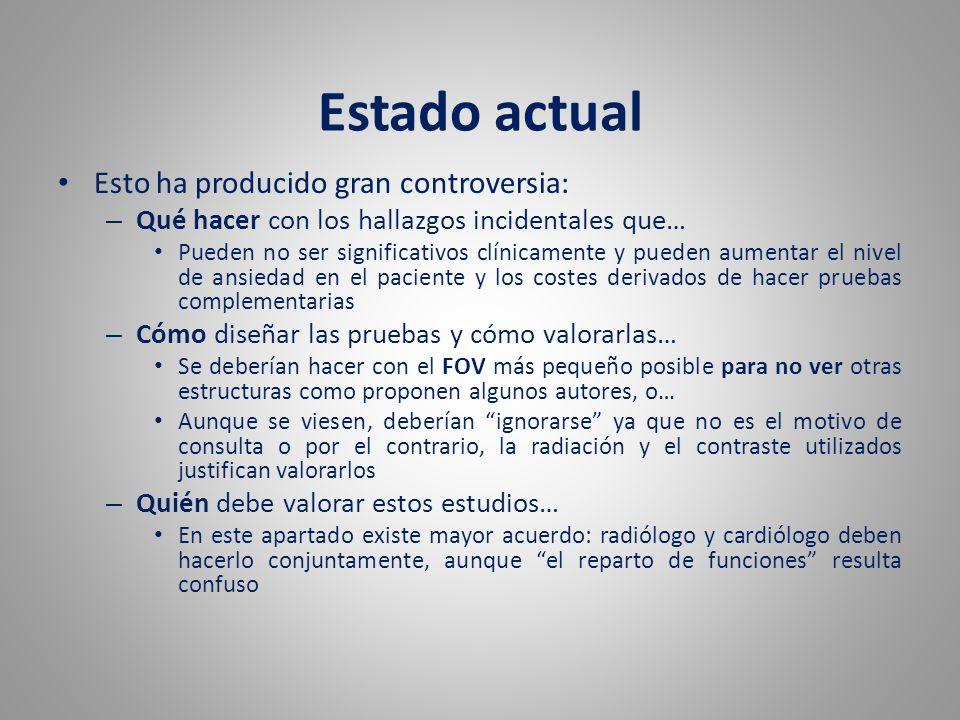 Estado actual Medicina Nuclear TC RM Eco Cateterismo cardíaco Patología Cardíaca.