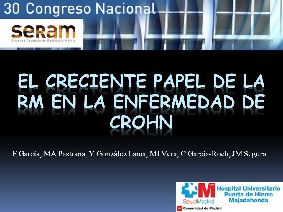 F García, MA Pastrana, Y González Lama, MI Vera, C García-Roch, JM Segura