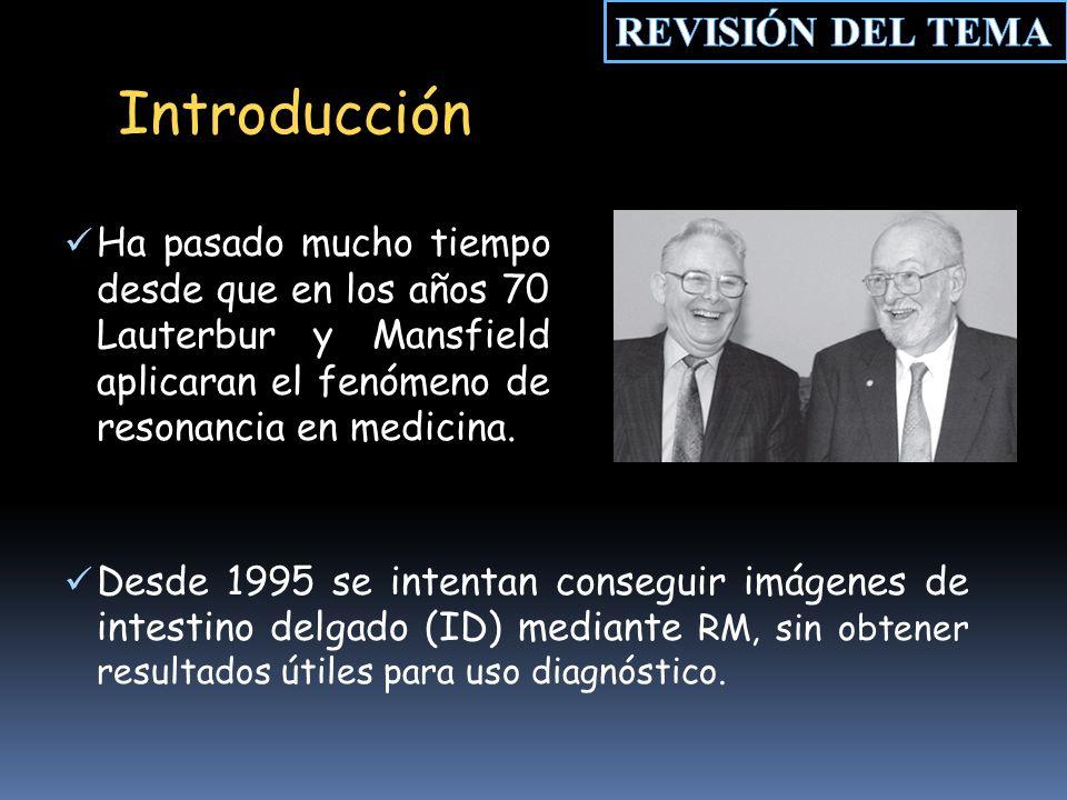 ¿Enterografía o enteroclisis.Sensibilidad similar en la detección de actividad inflamatoria 1.