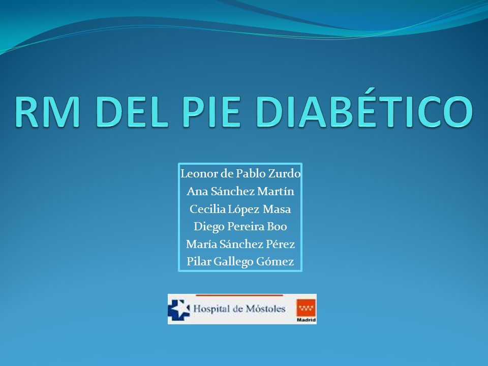 Revisar Indicaciones Protocolo de estudio Espectro de hallazgos en la RM del pie diabético.