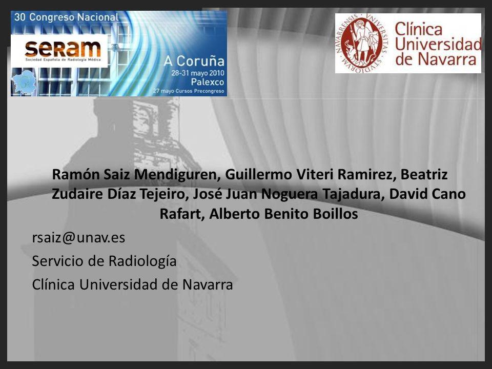 Ramón Saiz Mendiguren, Guillermo Viteri Ramirez, Beatriz Zudaire Díaz Tejeiro, José Juan Noguera Tajadura, David Cano Rafart, Alberto Benito Boillos r