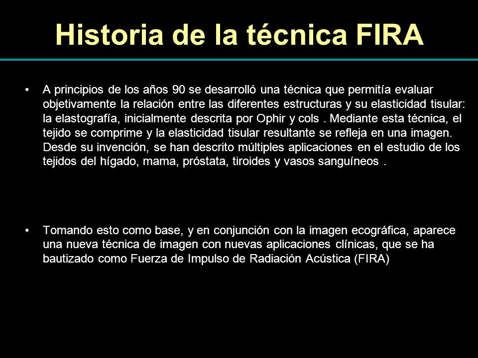 Historia de la técnica FIRA A principios de los años 90 se desarrolló una técnica que permitía evaluar objetivamente la relación entre las diferentes
