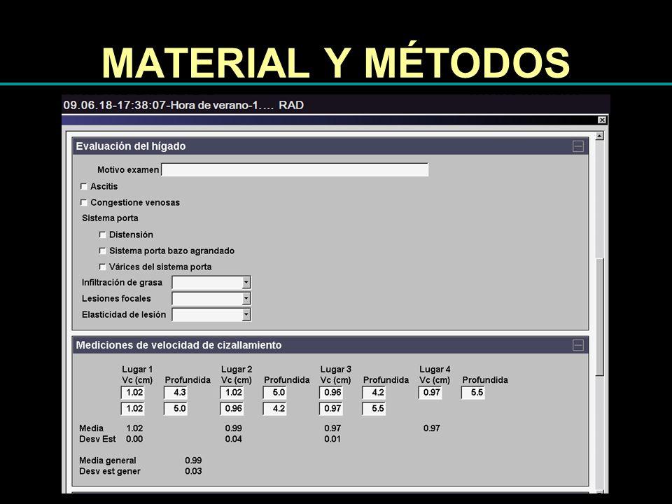 MATERIAL Y MÉTODOS