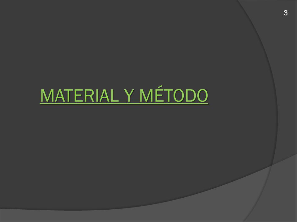 MATERIAL Y MÉTODO 3