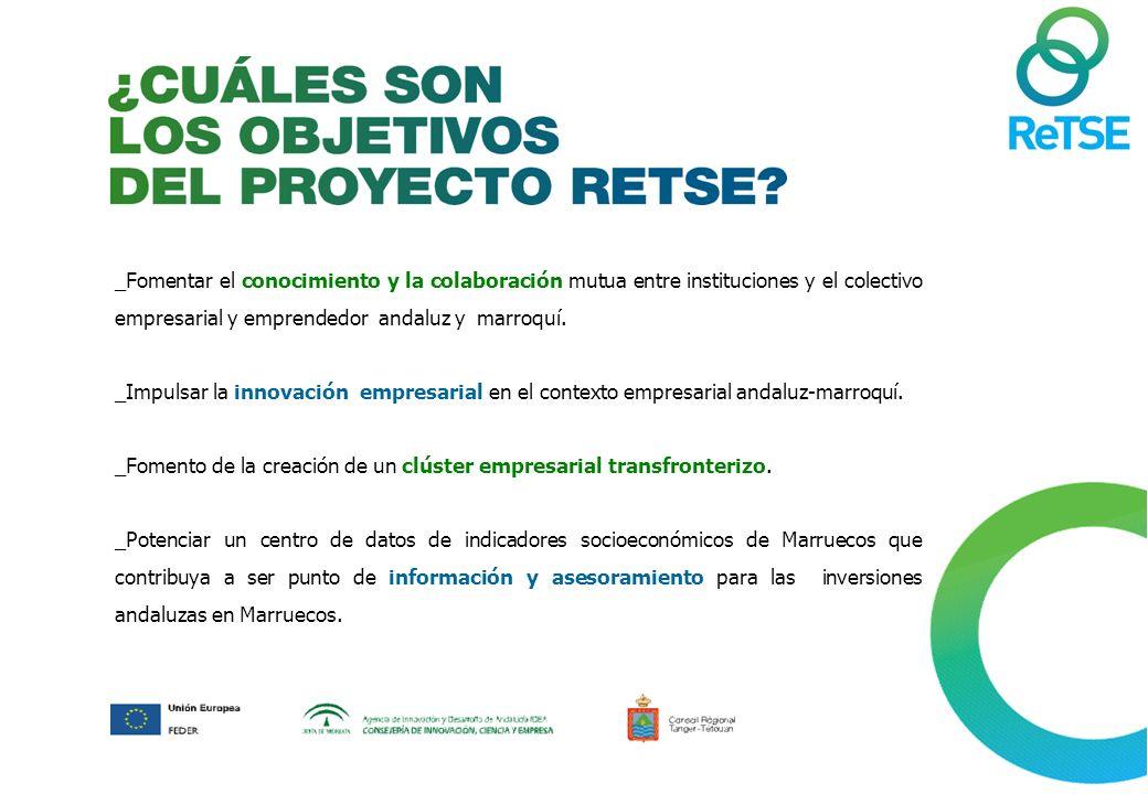 _Fomentar el conocimiento y la colaboración mutua entre instituciones y el colectivo empresarial y emprendedor andaluz y marroquí.