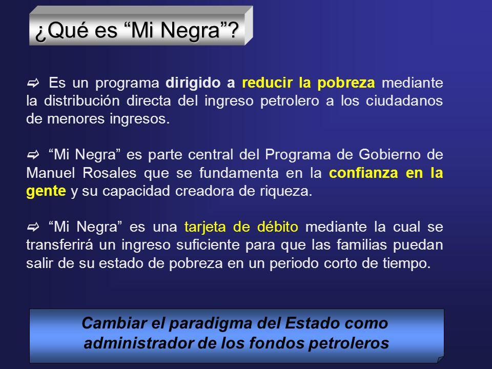 Para las familias venezolanas que están en situación de pobreza, para la clase media empobrecida y para los desempleados.