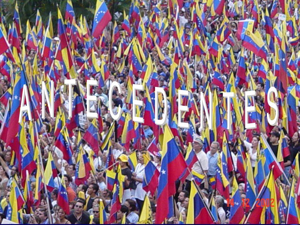 Mitad del PeriodoLapso Revocatorio Aún sin definirDos reuniones sin emitir opinión Grupo de Países Amigos Referendo Revocatorio a partir 19Ago03 Constituye un hito importante el reconocimiento internacional de la gravedad de la crisis venezolana.