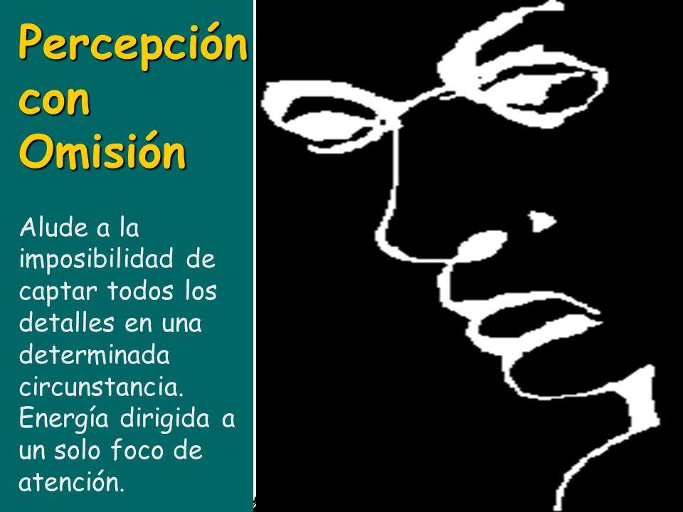 Distorsión Sensitiva Proporcionan un estímulo de confusa interpretación