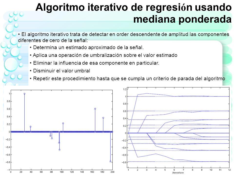 -Cada vez que una codificación de fase es ejecutada los datos (muestras de la señal BOLD codificada en frecuencia) son almacenados en una línea del espacio k -Las imágenes MRI concentran la mayor energía en el origen del espacio k -128 Espacio k Señal BOLD 256 codificaciones de fase +128 0 ifft2 Contexto de Aplicación CS a fMRI