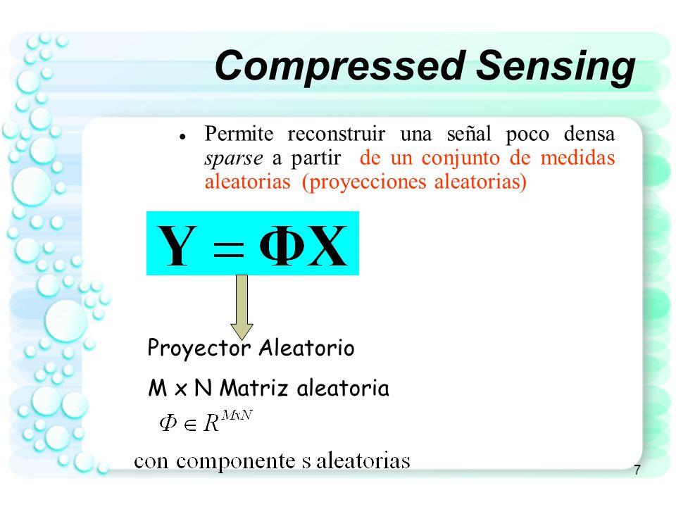 8 Representación Sparse = 0.2 0 0.5 0 0.1 0 = X Átomos de un diccionario
