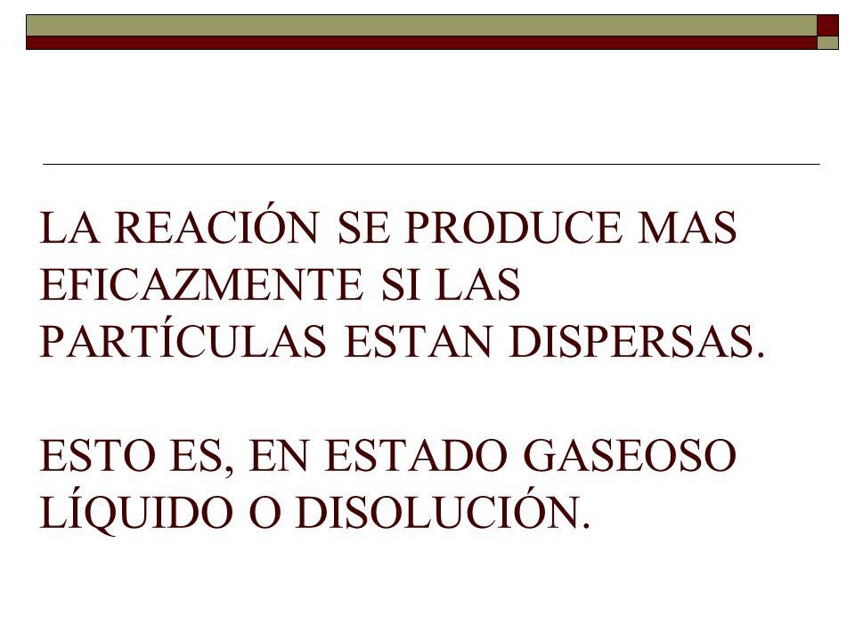 Ley de los volúmenes de combinación de Gay Lusacc.