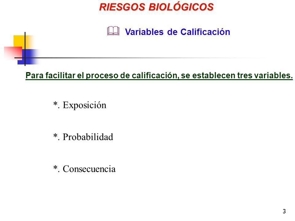 3 Para facilitar el proceso de calificación, se establecen tres variables.