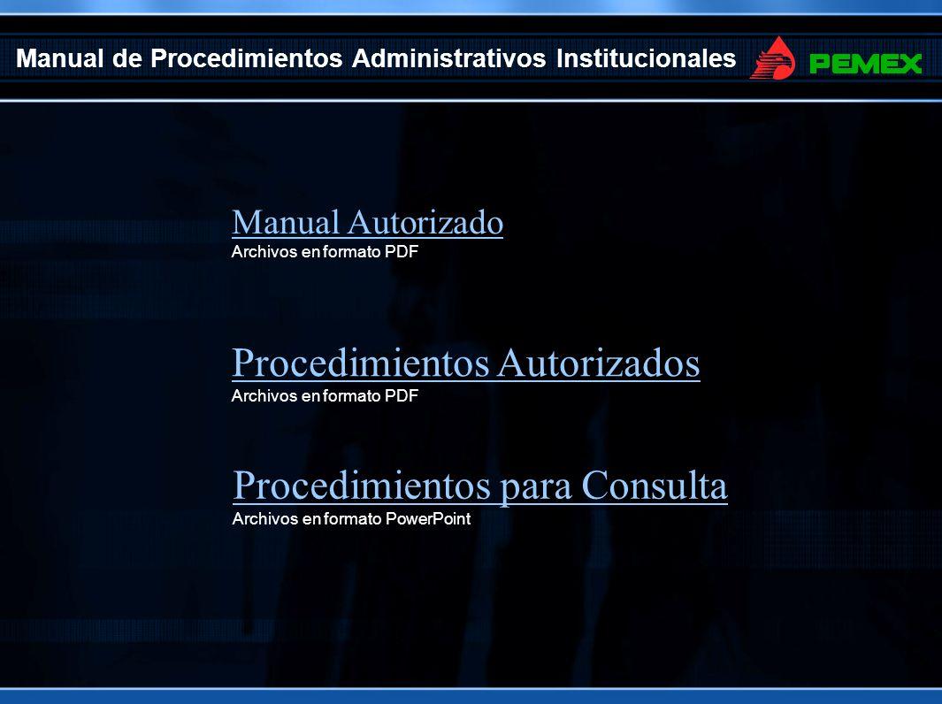Manual de Procedimientos Administrativos Institucionales Autorizados (PDF) Nota: Para ver los archivos debe tener instalado el software de Acrobat Reader PLANEACION, PROGRAMACION Y PRESUPUESTO 1.Planeacion de Obras y ServiciosPlaneacion de Obras y Servicios 2.Programa Anual de Requerimientos PresupuestalesPrograma Anual de Requerimientos Presupuestales 3.Programa Anual de ContratacionPrograma Anual de Contratacion 37.Requerimientos Presupuestales de Proyectos FinanciadosRequerimientos Presupuestales de Proyectos Financiados DESARROLLO DE INGENIERIA 4.Desarrollo de IngenieriaDesarrollo de Ingenieria 5.Ingenieria LegalIngenieria Legal 6.Elaboracion e Integracion de Bases para ContratacionElaboracion e Integracion de Bases para Contratacion … EJECUCION Y SUPERVISION 28.Retencion Economica y/o Aplicación de Penas ConvencionalesRetencion Economica y/o Aplicación de Penas Convencionales 29.Suspension y Reanudacion de los TrabajosSuspension y Reanudacion de los Trabajos 30.Terminacion Anticipada de Contratos de Obra PublicaTerminacion Anticipada de Contratos de Obra Publica 31.Finiquito de ContratosFiniquito de Contratos CONTRATACIÓN 19.Elaboración y Tramite de Estimaciones de ContratosElaboración y Tramite de Estimaciones de Contratos 20.Ajuste de CostosAjuste de Costos 21.Reclamaciones de los ContratistasReclamaciones de los Contratistas 22.Controversias TécnicasControversias Técnicas 23.Rescisión del Contrato por Causas Imputables al ContratistaRescisión del Contrato por Causas Imputables al Contratista 24.Ordenes de CambioOrdenes de Cambio 25.Autorizacion de Precios Unitarios ExtraordinariosAutorizacion de Precios Unitarios Extraordinarios 26.Celebracion de Convenios Modificatorios o Adicionales de ContratosCelebracion de Convenios Modificatorios o Adicionales de Contratos 27.Recuperaciones de Pagos en Exceso al ContratistaRecuperaciones de Pagos en Exceso al Contratista TERMINACION Home 34.Recepcion Contractual de Obras o ServiciosRecepcion Contractual de Obras o Serv