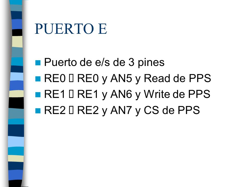 REGISTROS DE DIRECCION Confuguran si un pin es de entrada o de salida.