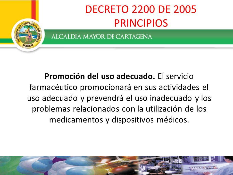 PROHIBICIONES DEL DISPENSADOR : Recomendar a los usuarios la utilización de medicamentos.