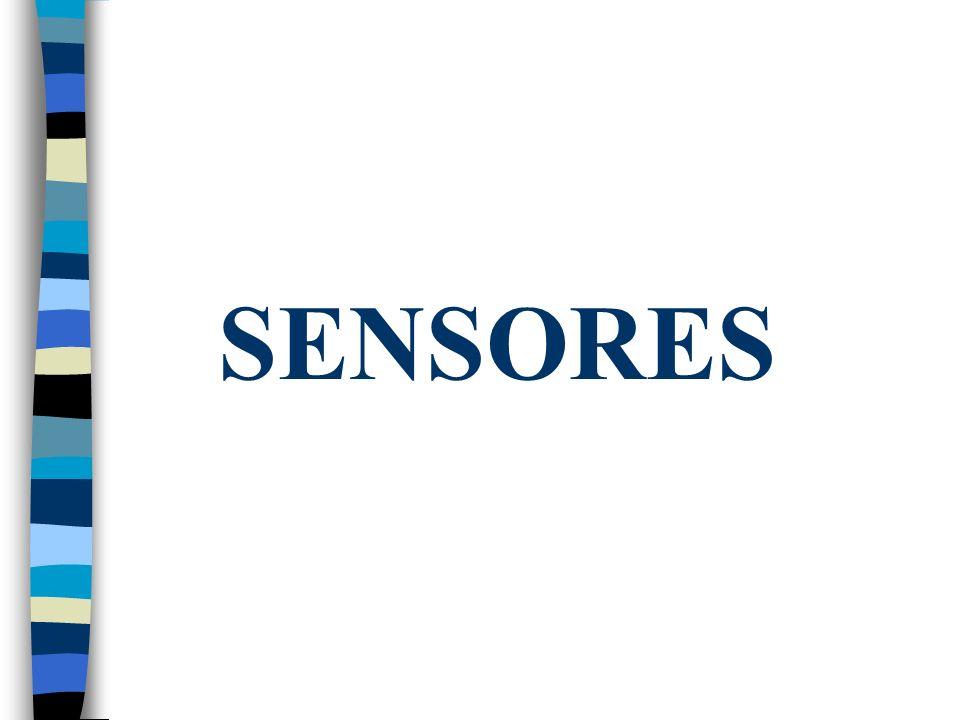 Tipos de sensores: Mecánicos. Infrarrojos. Ultrasonidos.
