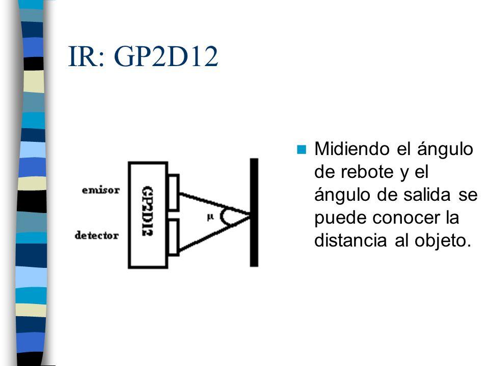 Conexión: El pin de señal debe ser un conversor A/D.