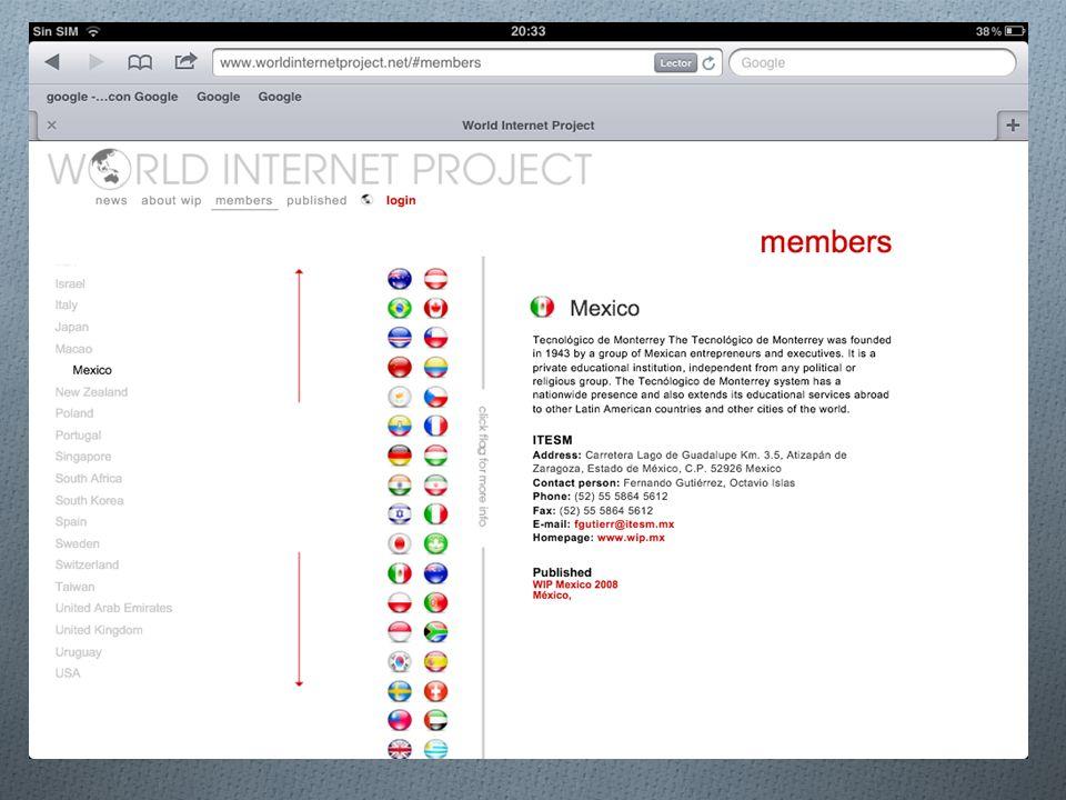 Proyecto Internet del TEC de Monterrey, Campus Estado de México Qué es.
