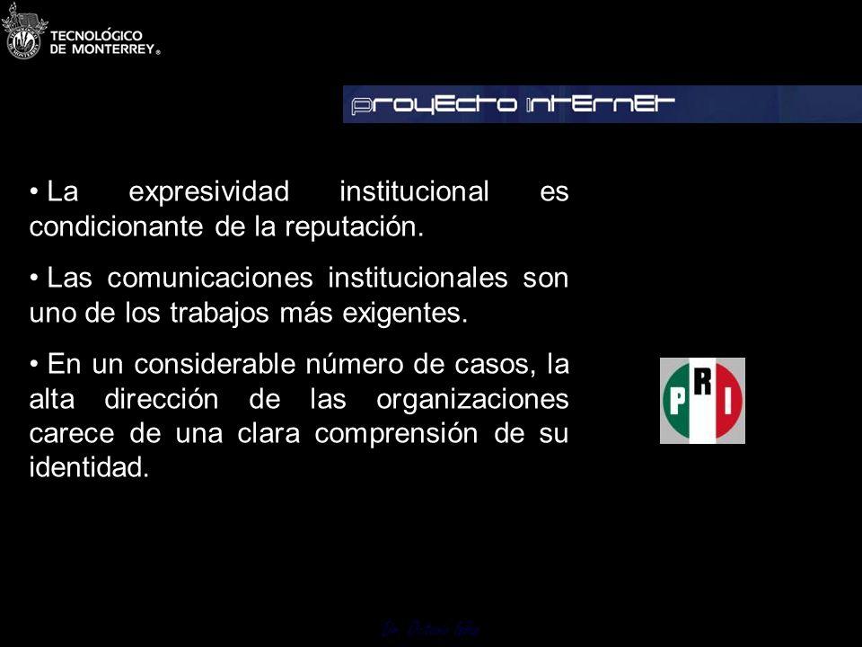 Dr. Octavio Islas 6 La comunicación estratégica en la dialéctica de la identidad y la imagen La identidad es el principio y fundamento de la imagen. L