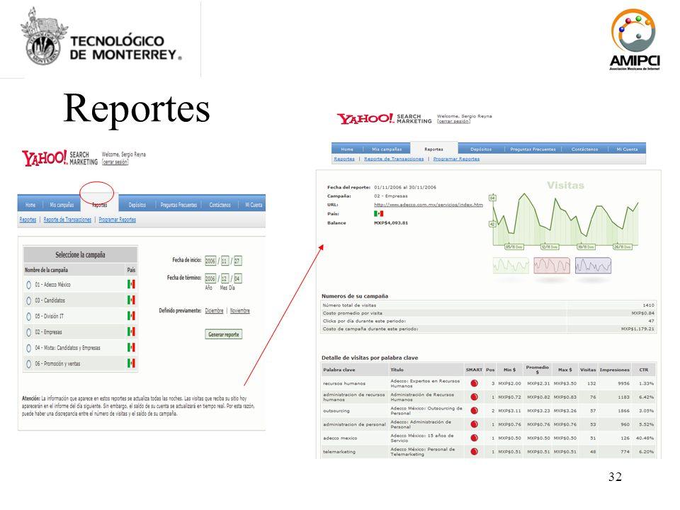 32 Reportes