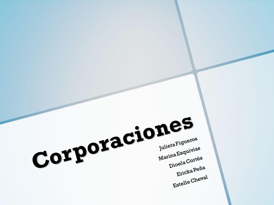 Corporaciones Julieta Figueroa Marina Esquivias Dioela Cortés Ericka Peña Estelle Cheval