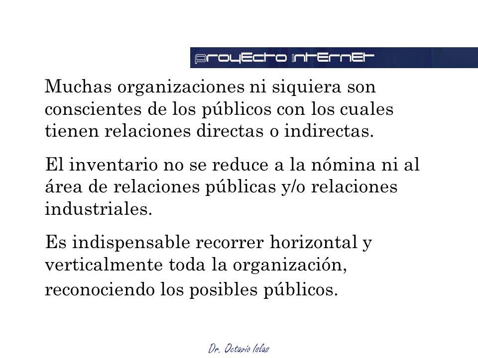 Dr.Octavio Islas Ciberaudiencias Advenimiento de una nueva esfera: la dimensión internetacional.