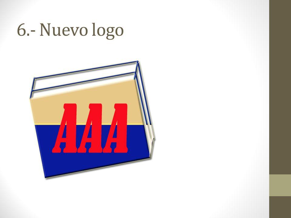 6.- Nuevo logo