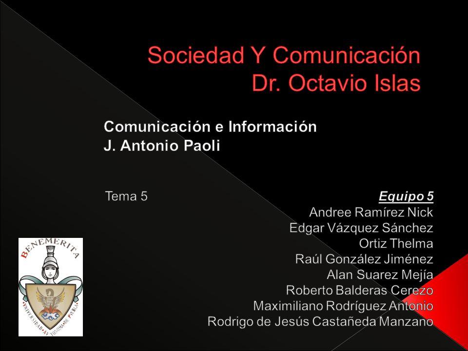 INVESTIGACIÓN DE LA COMUNICACIÓN EN LOS ESTADOS UNIDOS