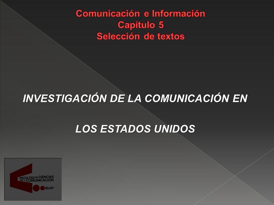 La comunicación es el proceso social fundamental Es objeto de estudio de varias disciplinas: Psicología, Sociología, Antropología, Matemáticas, etc.