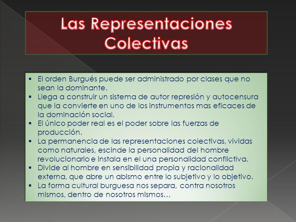 -El estereotipo social -La ideología burguesa se caracteriza por el establecimiento de una racionalidad en el cuadro de un sistema social determinado.
