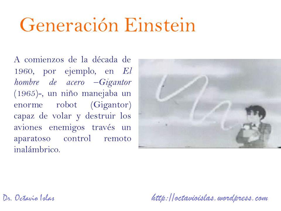 Dr. Octavio Islas http://octavioislas.wordpress.com A comienzos de la década de 1960, por ejemplo, en El hombre de acero – Gigantor (1965)-, un niño m