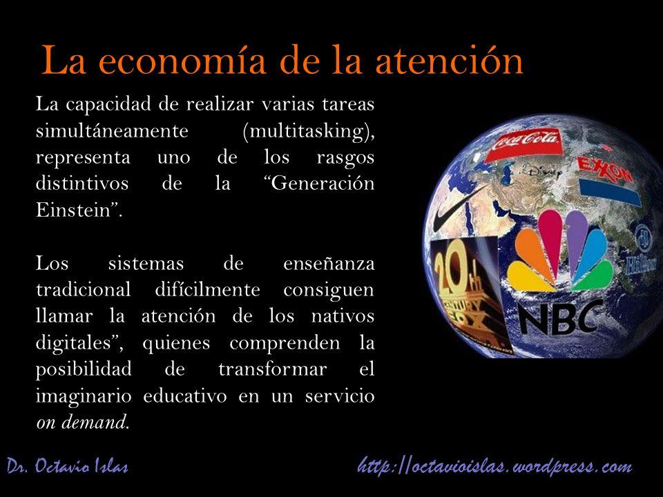 Dr. Octavio Islas http://octavioislas.wordpress.com La capacidad de realizar varias tareas simultáneamente (multitasking), representa uno de los rasgo