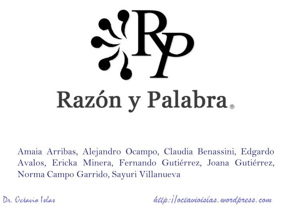 Amaia Arribas, Alejandro Ocampo, Ericka Minera, Fernando Gutiérrez, Francisco Hernández, Norma Campo Garrido, Paloma Trujano, Octavio Islas. Amaia Arr