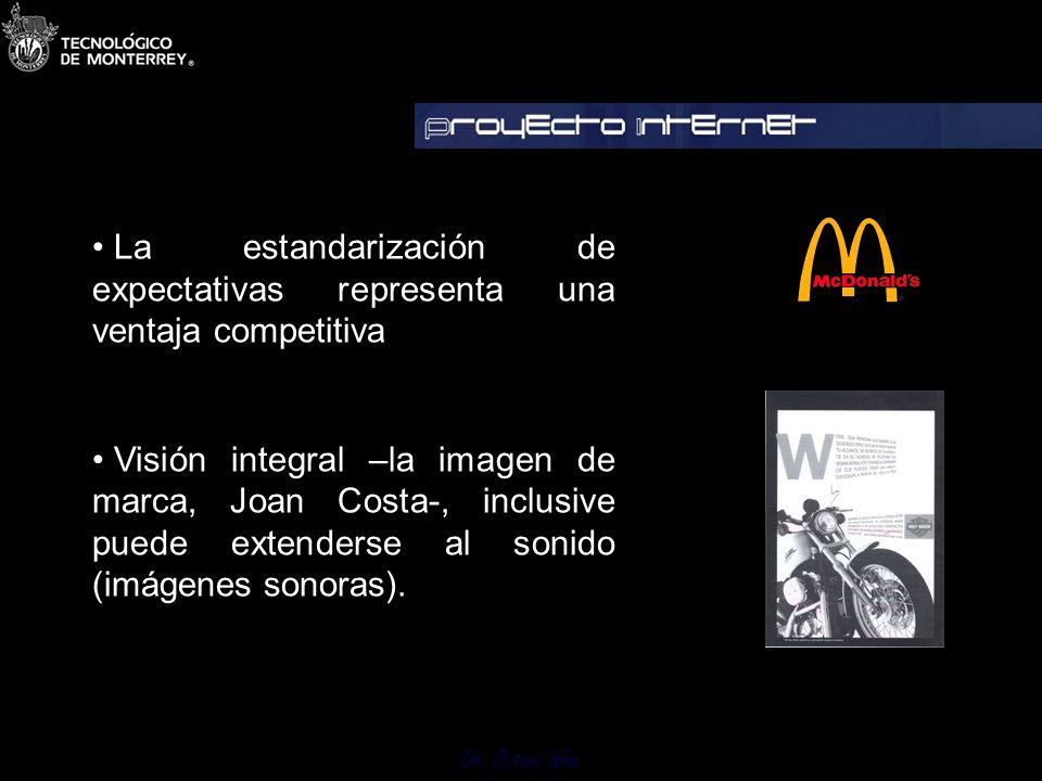 Dr. Octavio Islas La imagen de una organización se expresa a través de acciones comunicativas voluntarias e involuntarias. La intencionalidad supone e