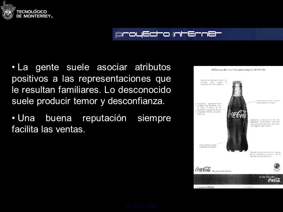 Dr. Octavio Islas Garbett afirma que la imagen de toda compañía es gobernada por seis factores: 1.