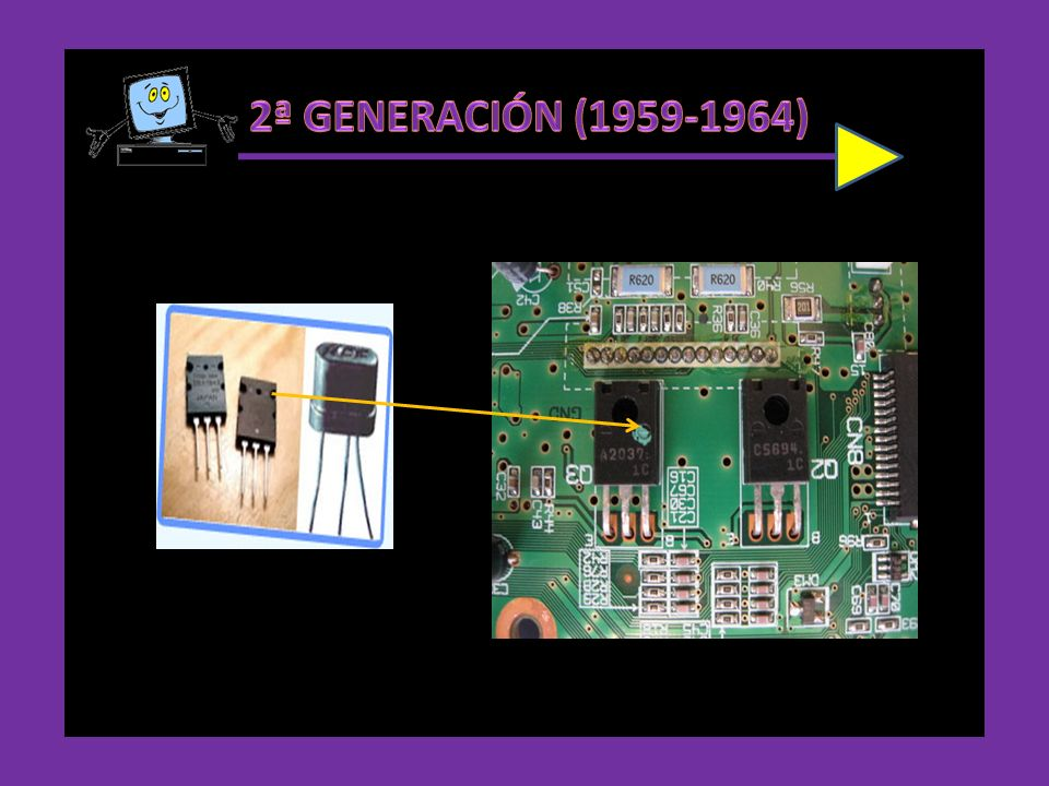 El transistor es un dispositivo electrónico semiconductor que cumple funciones de amplificador, oscilador, conmutador o rectificador. Se encuentra prá