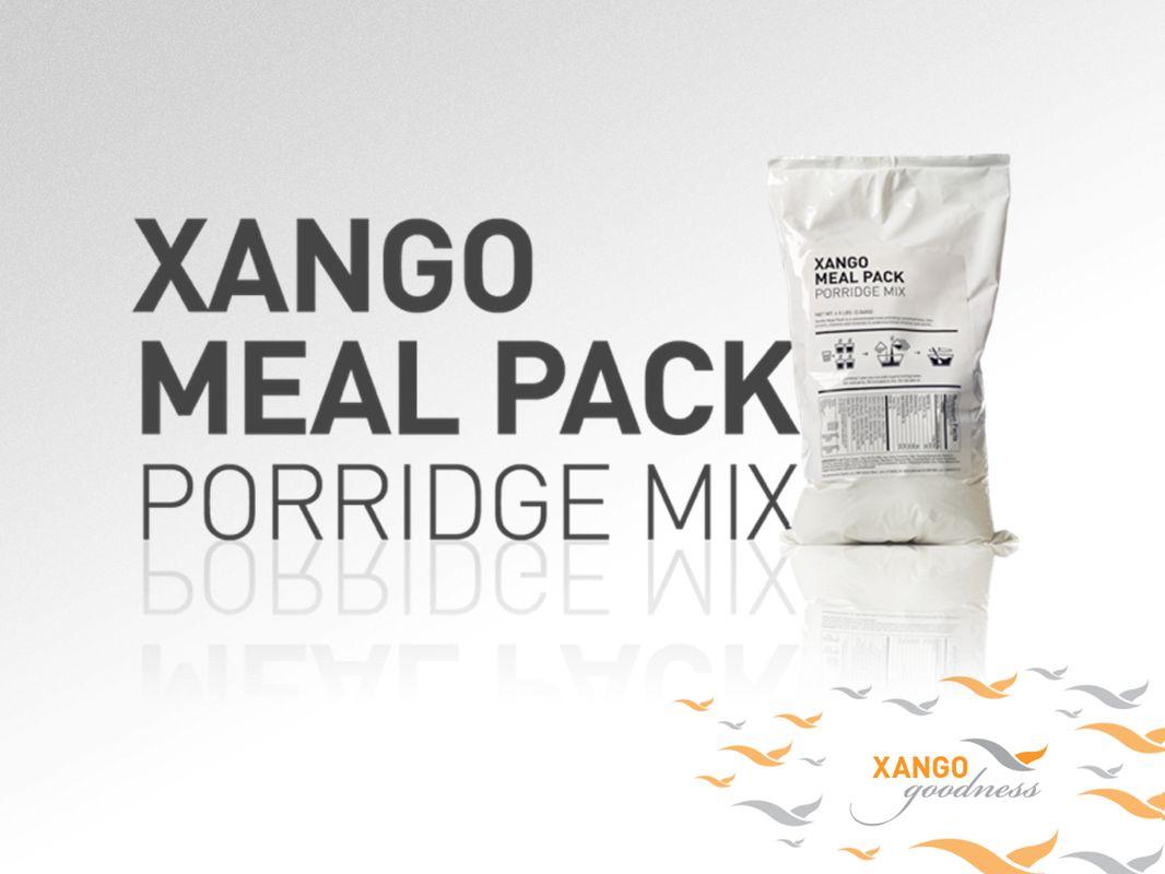 El Meal Pack de Xango ofrece el sustento que salva vidas a niños desnutridos y mal alimentados alrededor de todo el mundo mientras les brinda a los Distribuidores la oportunidad de incorporar las donaciones caritativas en sus actividades empresariales diarias.