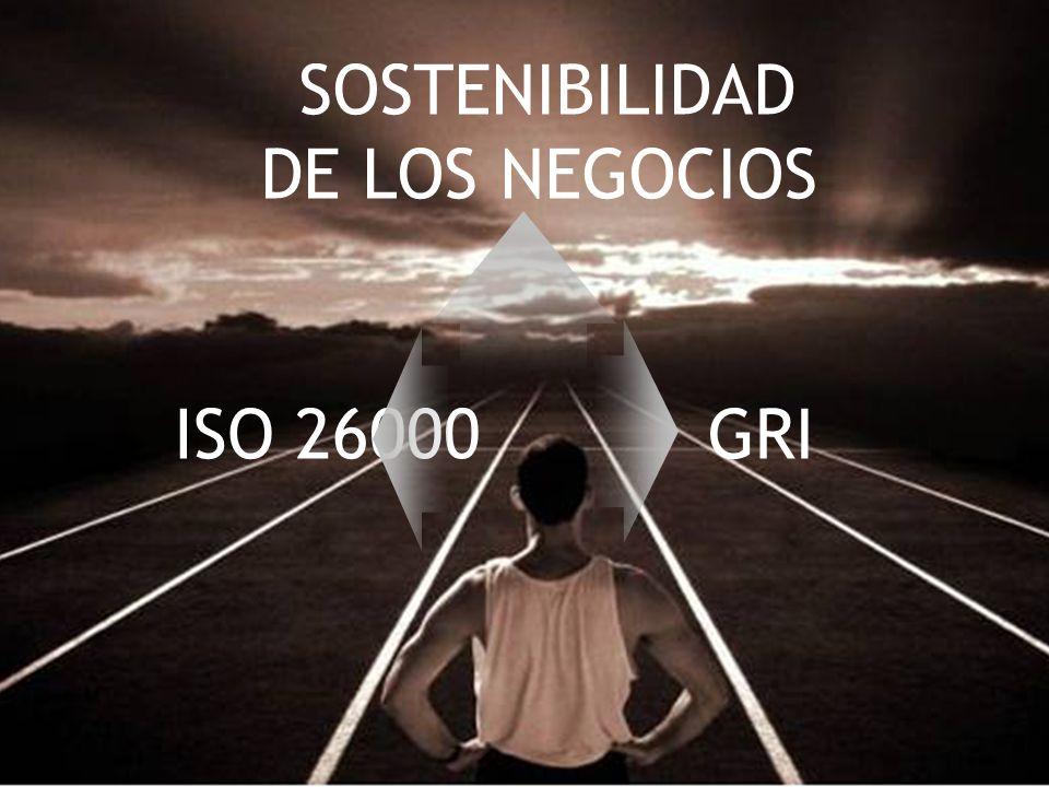 23 SOSTENIBILIDAD DE LOS NEGOCIOS ISO 26000GRI