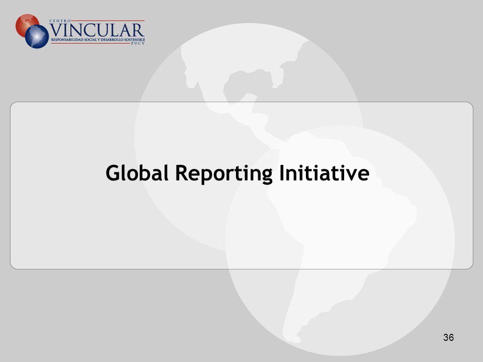 36 Global Reporting Initiative