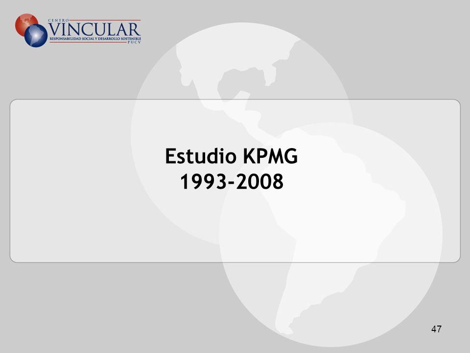 47 Estudio KPMG 1993-2008