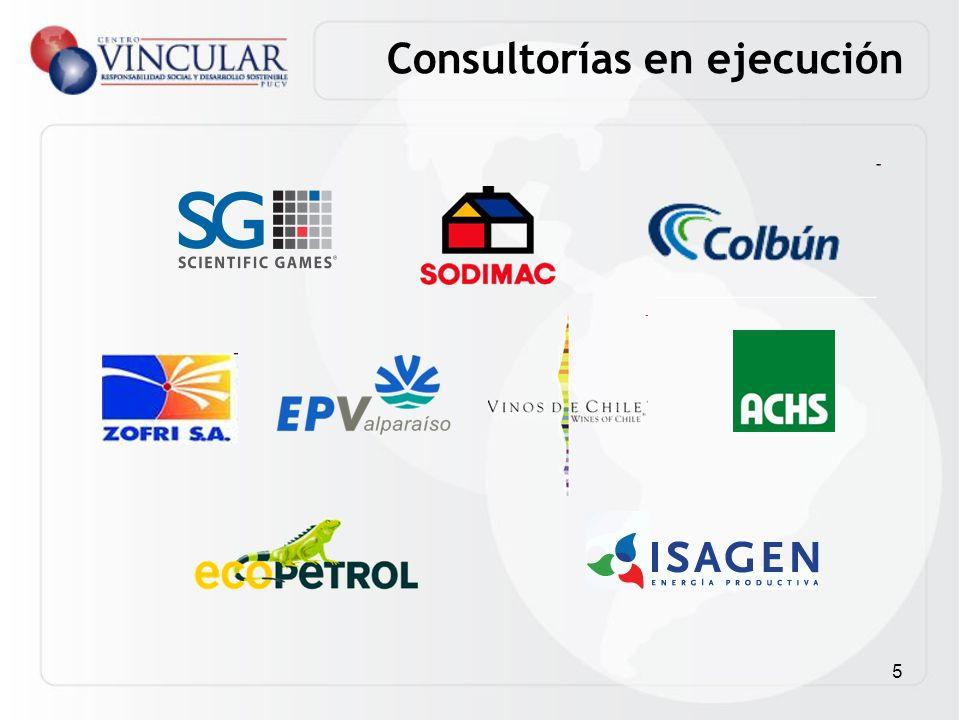 5 Consultorías en ejecución