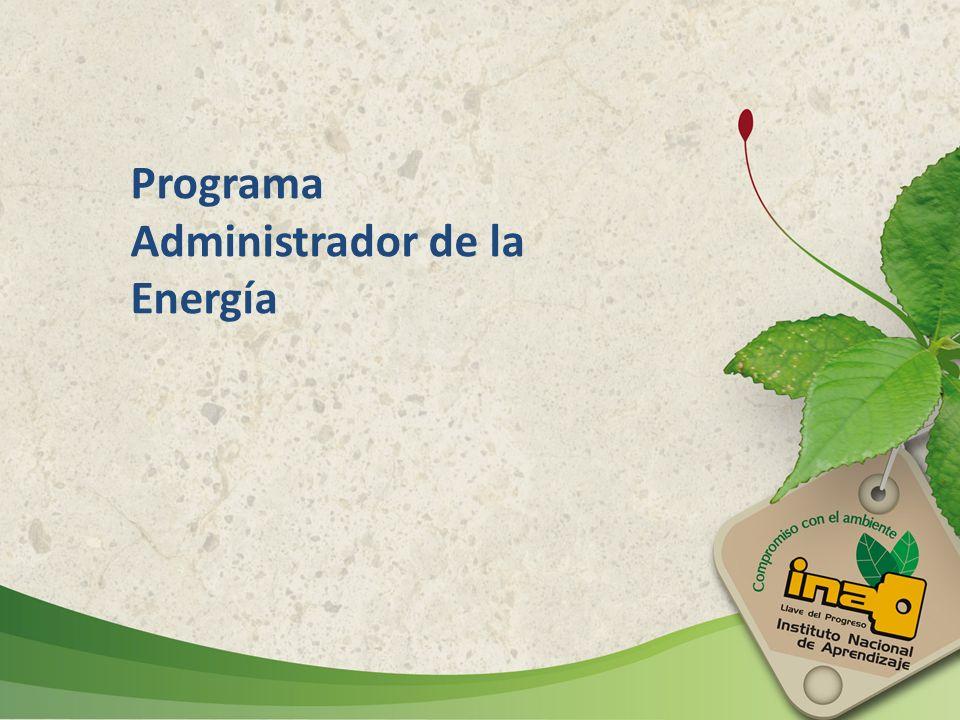 Programa Administrador de la Energía