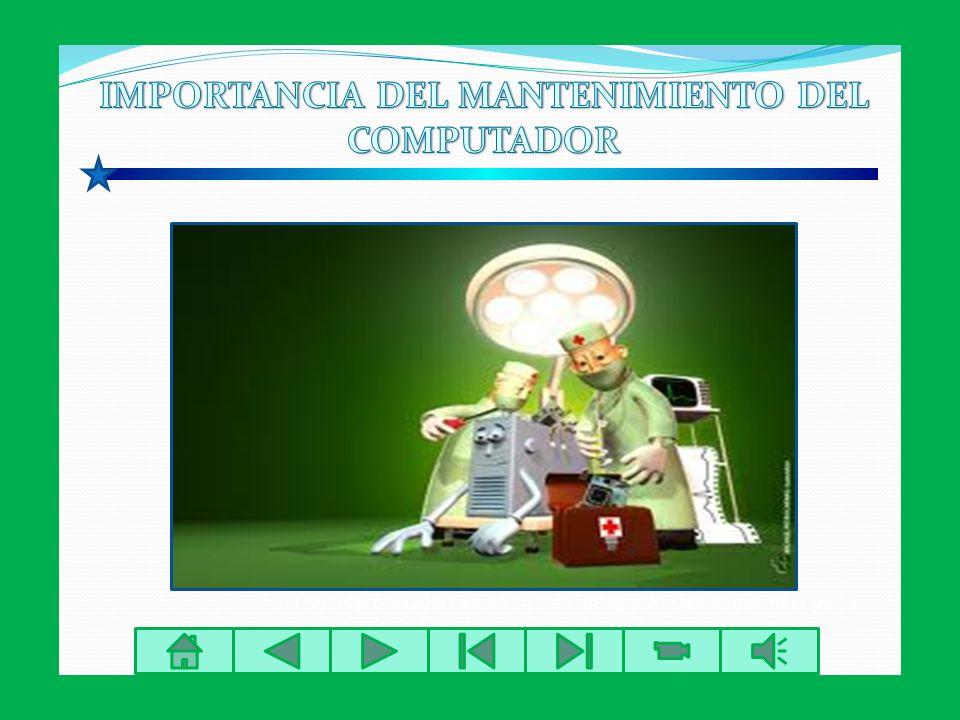El Microprocesador: es un circuito Integrado que reúne en la placa de Silicio las principales funciones de la Computadora. MANTENIMIENTO PREVENTIVO: S