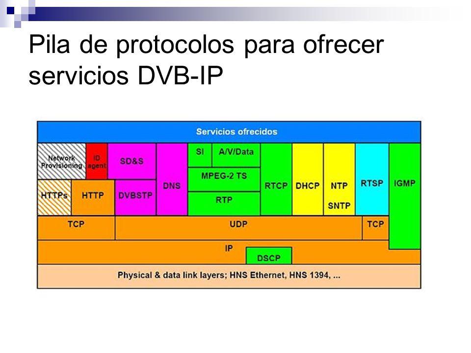 Servicios y/o Aplicaciones Servicios de entretenimiento: Pay TV (audio/vídeo).