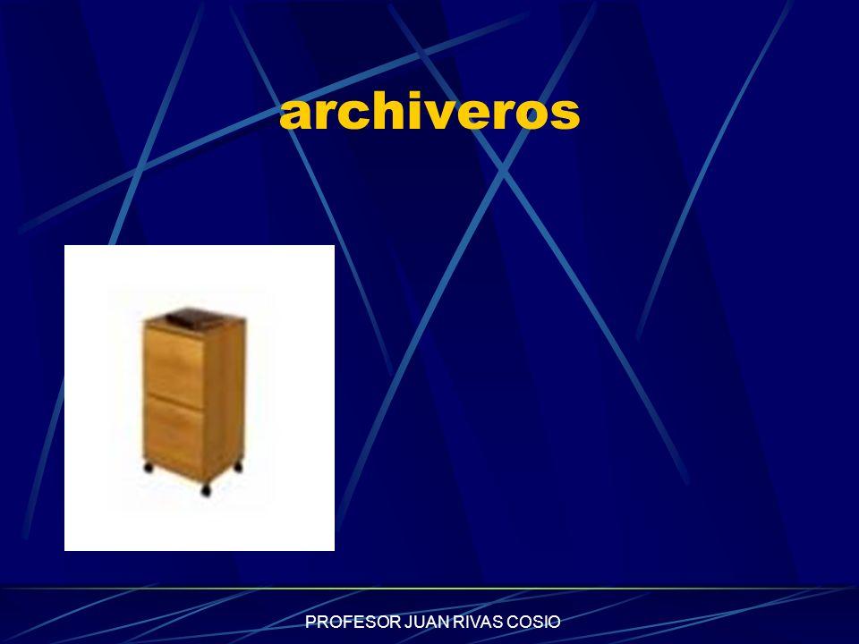 PROFESOR JUAN RIVAS COSIO archiveros