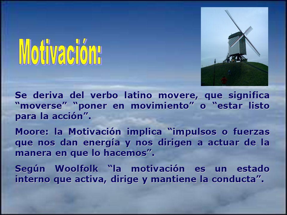 MITOS DE LA MOTIVACIÓN Para motivar a los alumnos sólo se requiere trabajar de inicio alguna dinámica o juego grupal que sea atractivo para ellos. Par