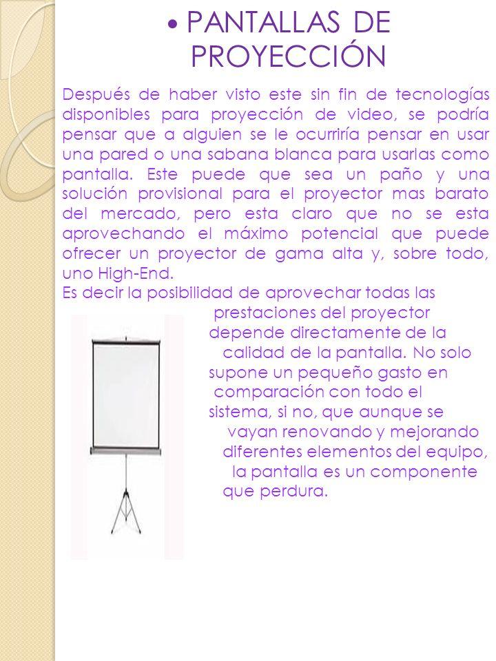 PROYECTOR LCS Proyectores LCD ( pantallas de cristal liquido) Fueron los principales proyectores que aparecieron en el mercado con tecnología totalmen