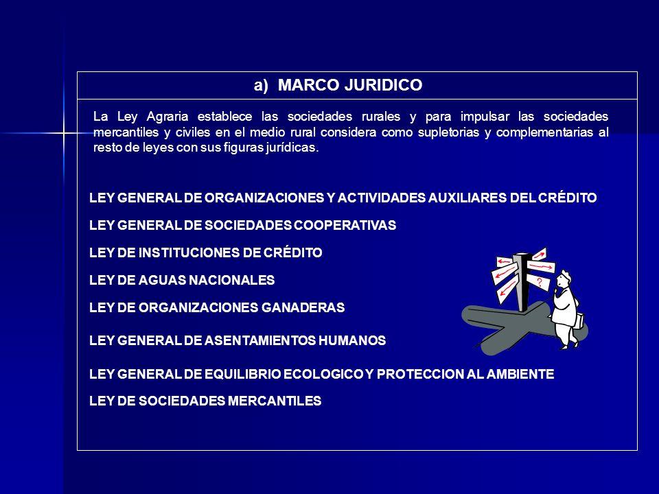 LEY GENERAL DE ORGANIZACIONES Y ACTIVIDADES AUXILIARES DEL CRÉDITO LEY DE INSTITUCIONES DE CRÉDITO LEY DE AGUAS NACIONALES LEY GENERAL DE SOCIEDADES C